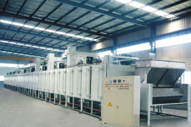 Sunflower seeds roasting production line