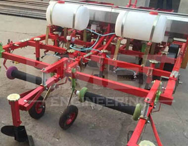 Peanut planter equipment